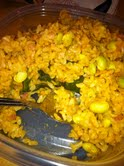 Ugly photo of Panchetta rice casserole